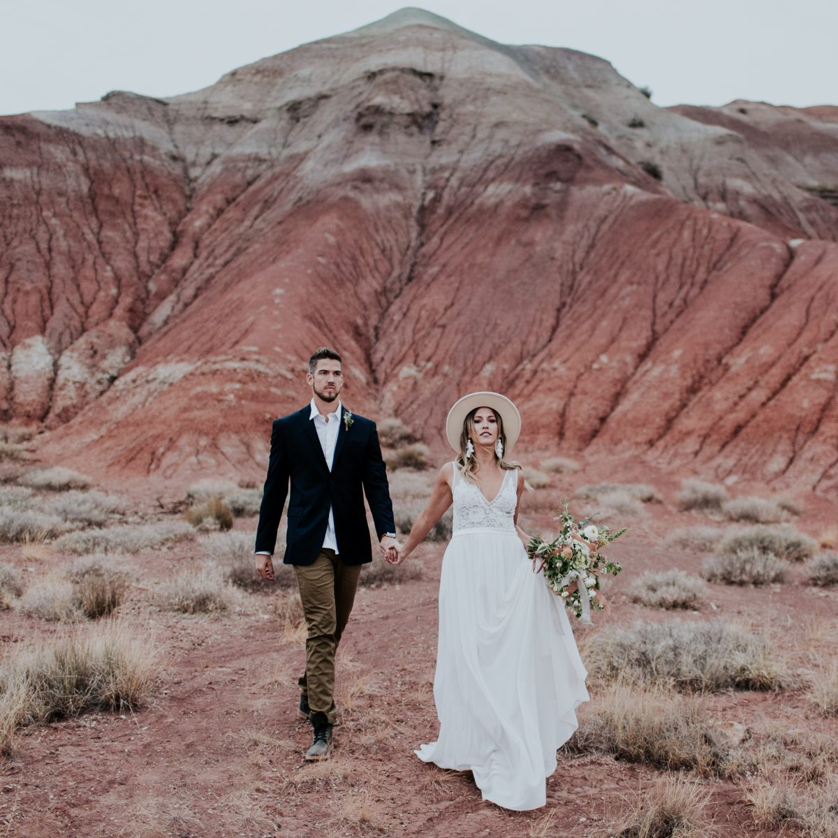 stylish new mexico elopement inspiration adventure travel desert