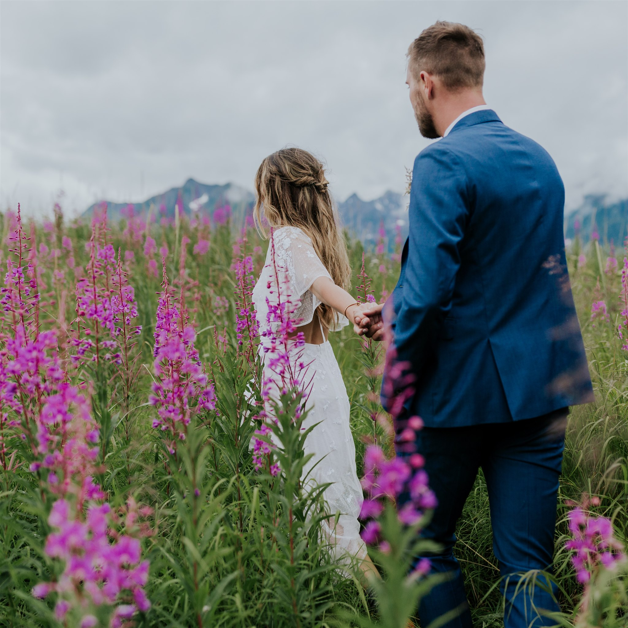 fireweed alaska wedding photos