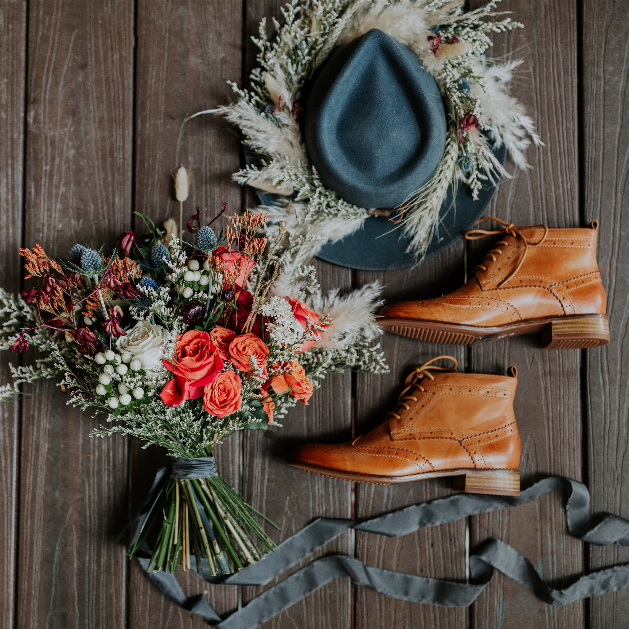 alaska elopement florist salted roots
