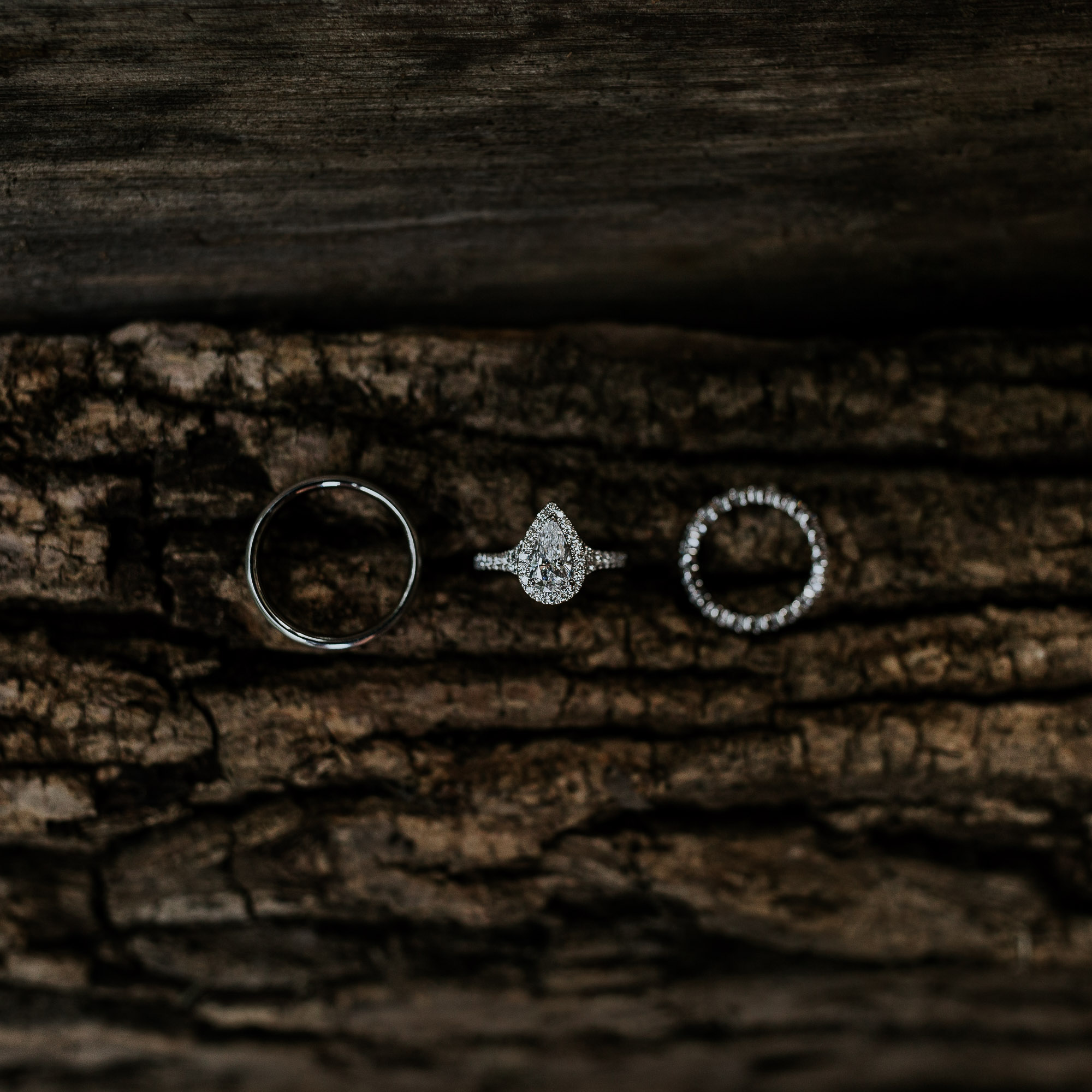adventurous outdoor wedding southern indiana midwest wedding photographer ring shot inspiration