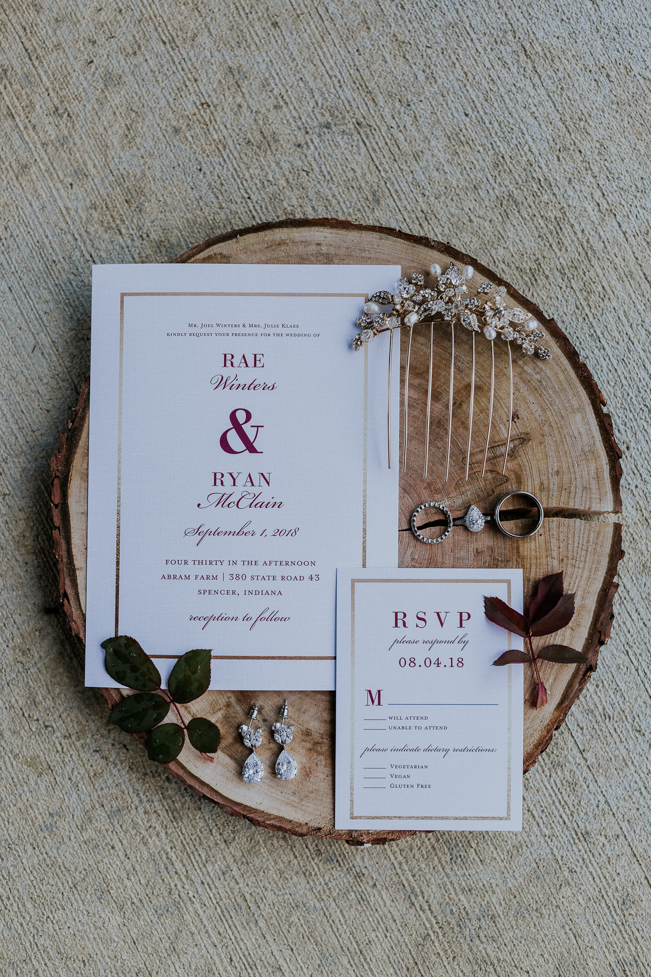 adventurous outdoor wedding southern indiana midwest wedding photographer invitation inspiration