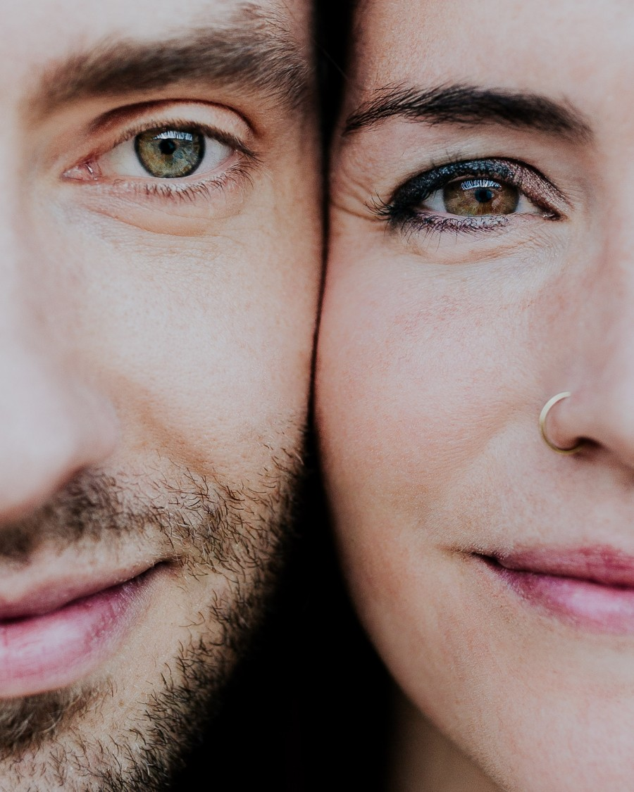 colorado elopement photographer close up eye photo