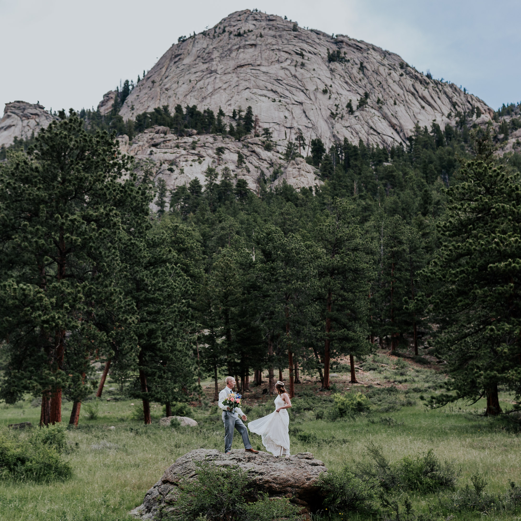 rocky mountain national park wedding photographer