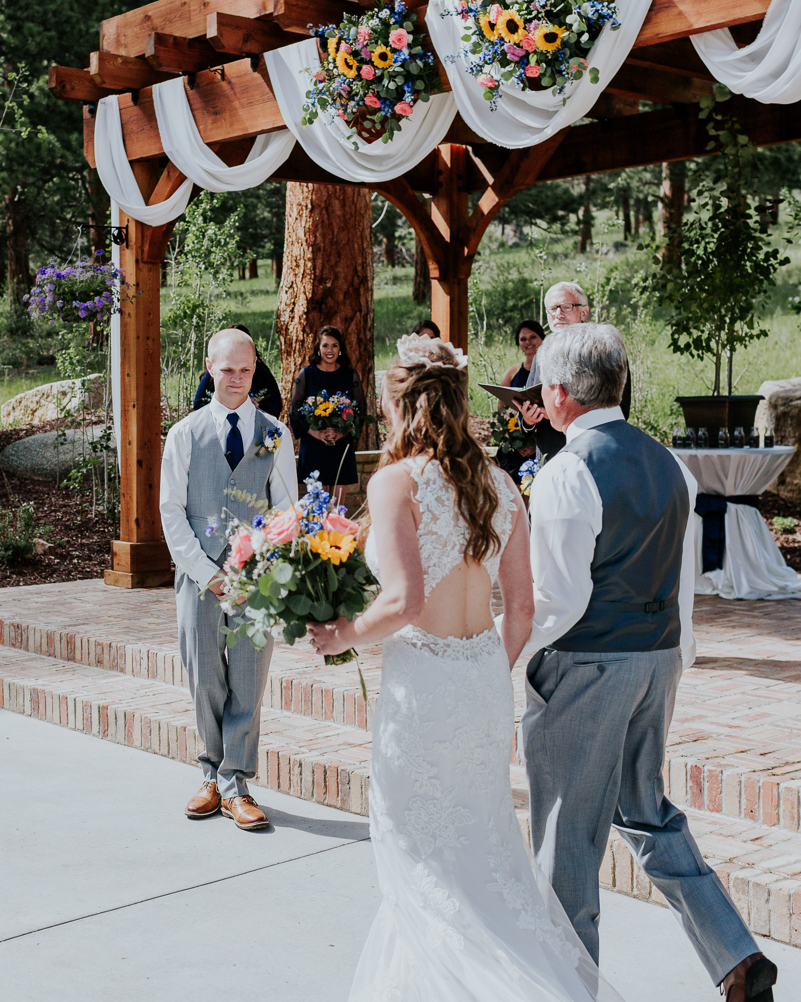 outdoor wedding photographer colorado