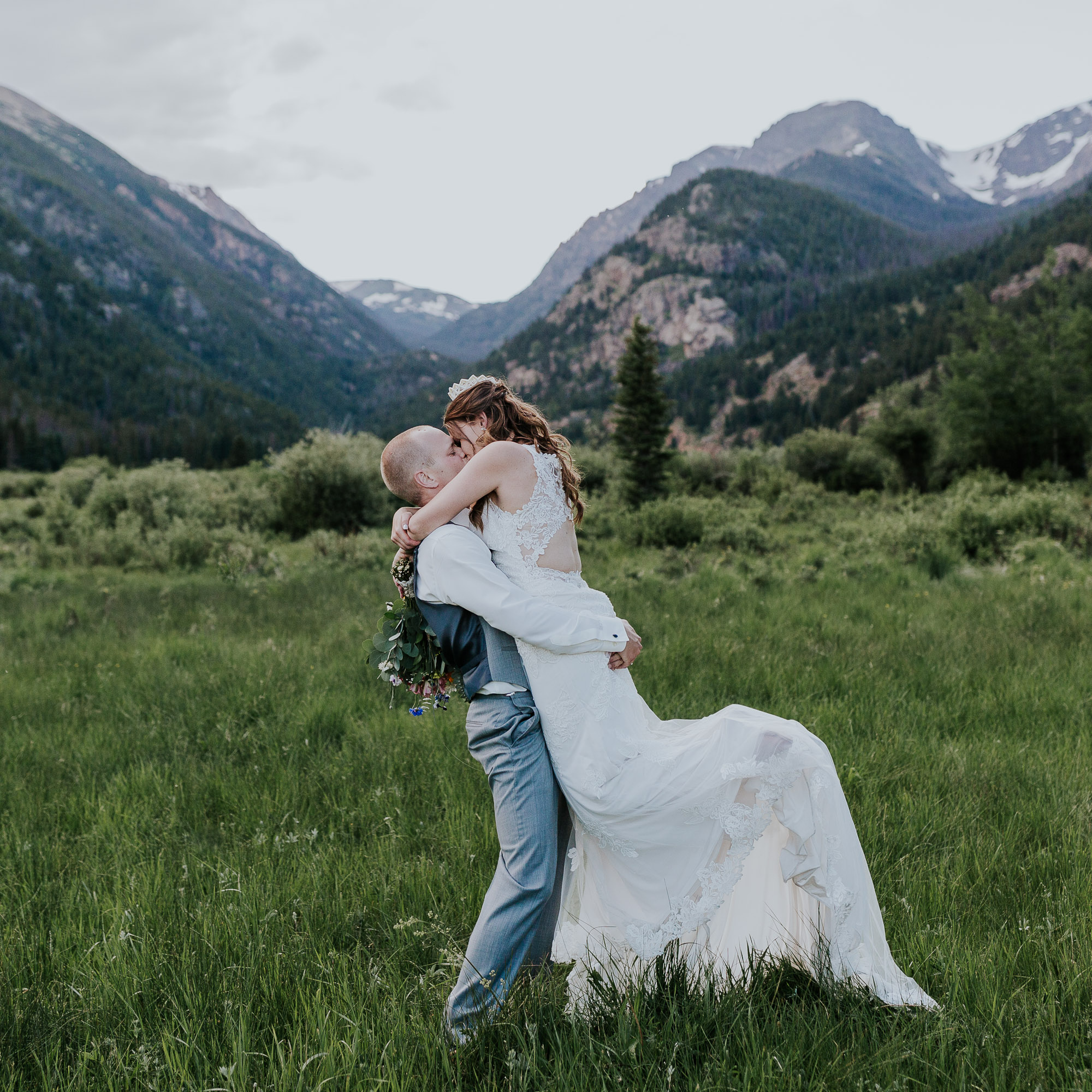 colorado wedding photographer rocky mountain national park