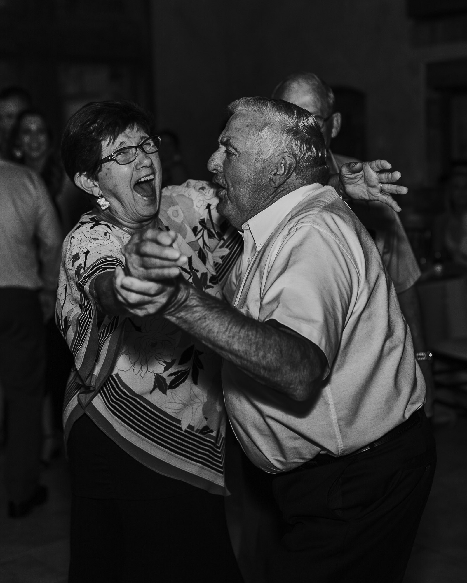 grandparents dancing wedding colorado