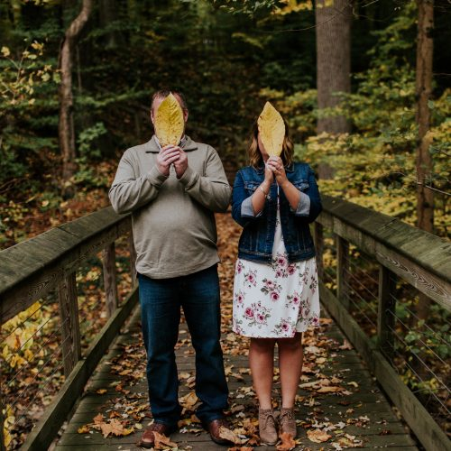 DANNY + RACHAEL: MORNING FALL ENGAGEMENT
