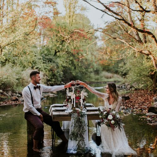 EARTHY + LUXE FALL ELOPEMENT INSPIRATION