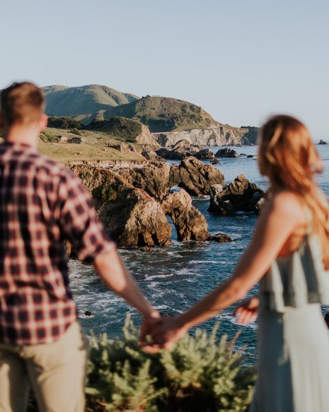 honeymoon adventure in big sur elopement photographer outdoor wedding honeymoon photos adventurous elopement photographer