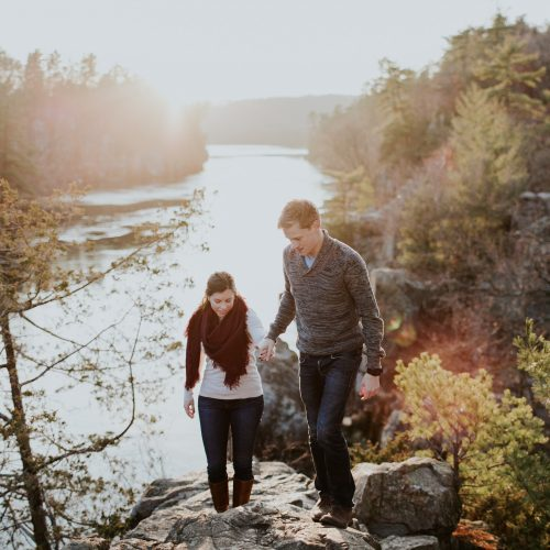 sunny minnesota engagement photographer emily hary adventurous elopement photographer