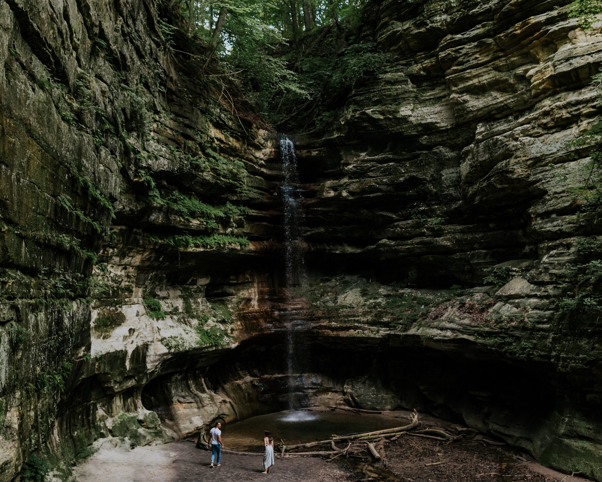 starved rock illinois engagement