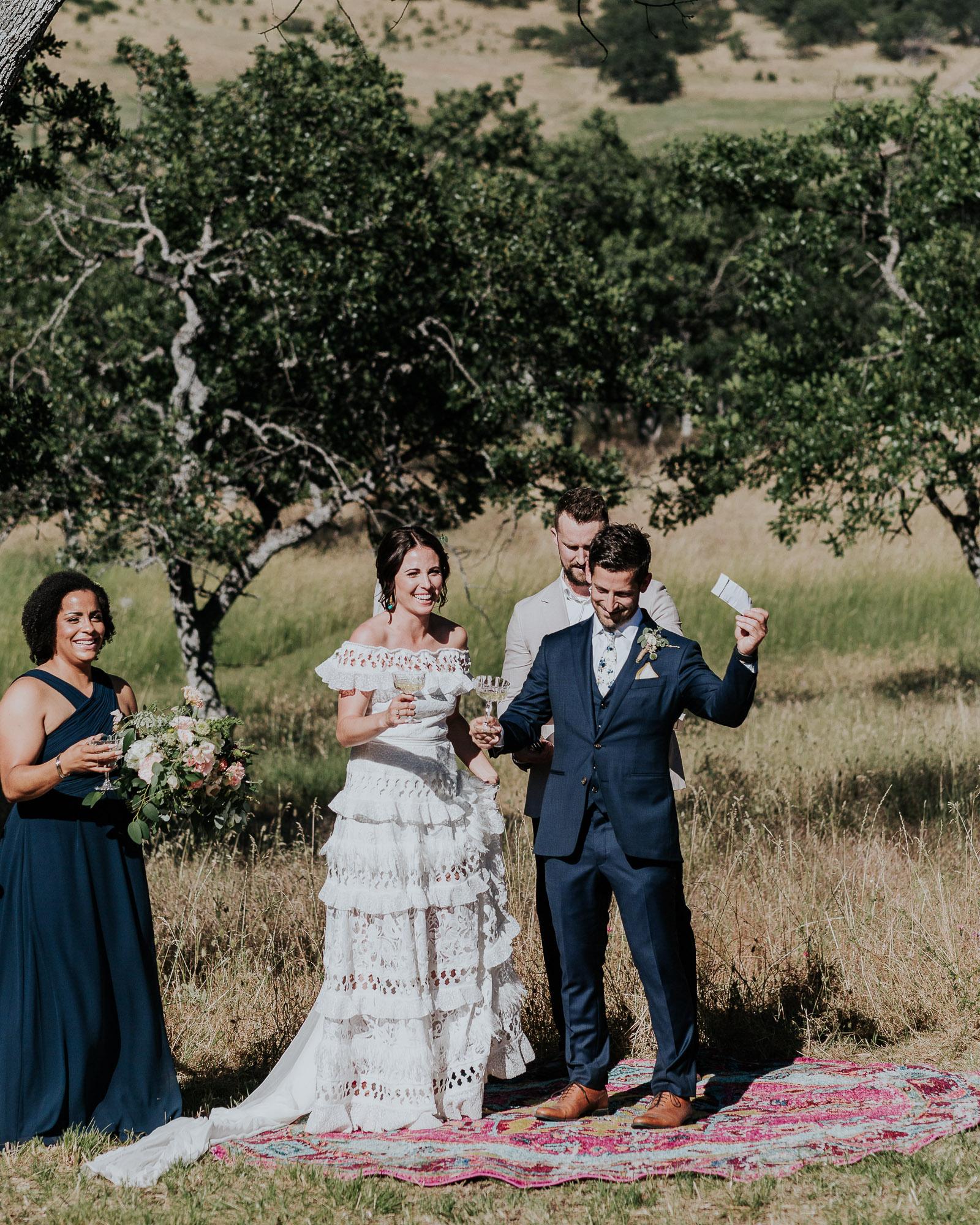 backyard wedding oregon medford