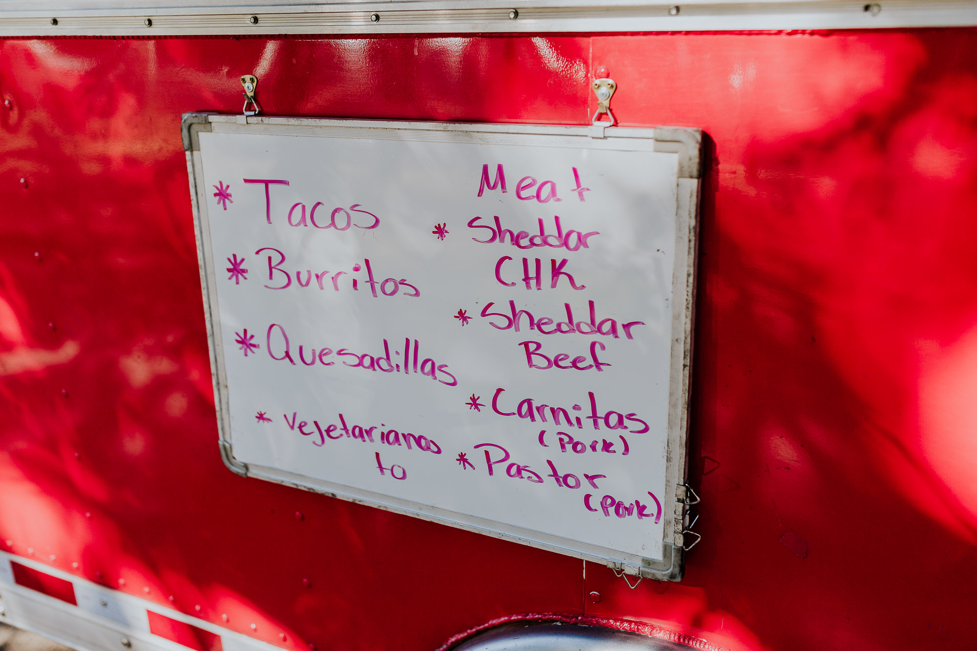 taco wedding food truck