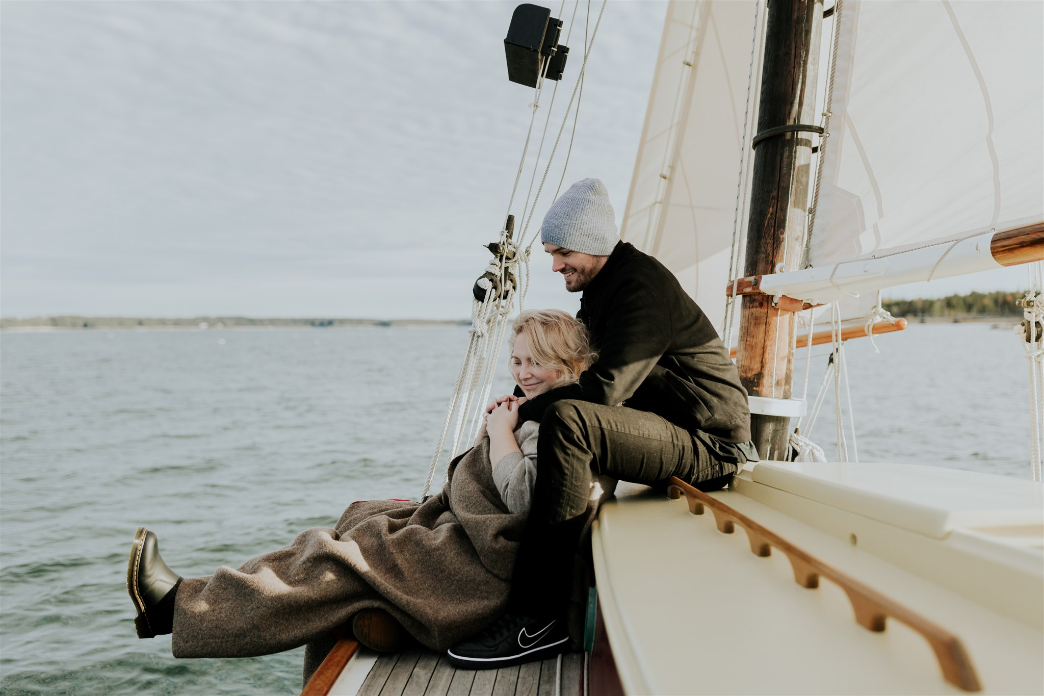 sailing engagement ideas maine acadia national park