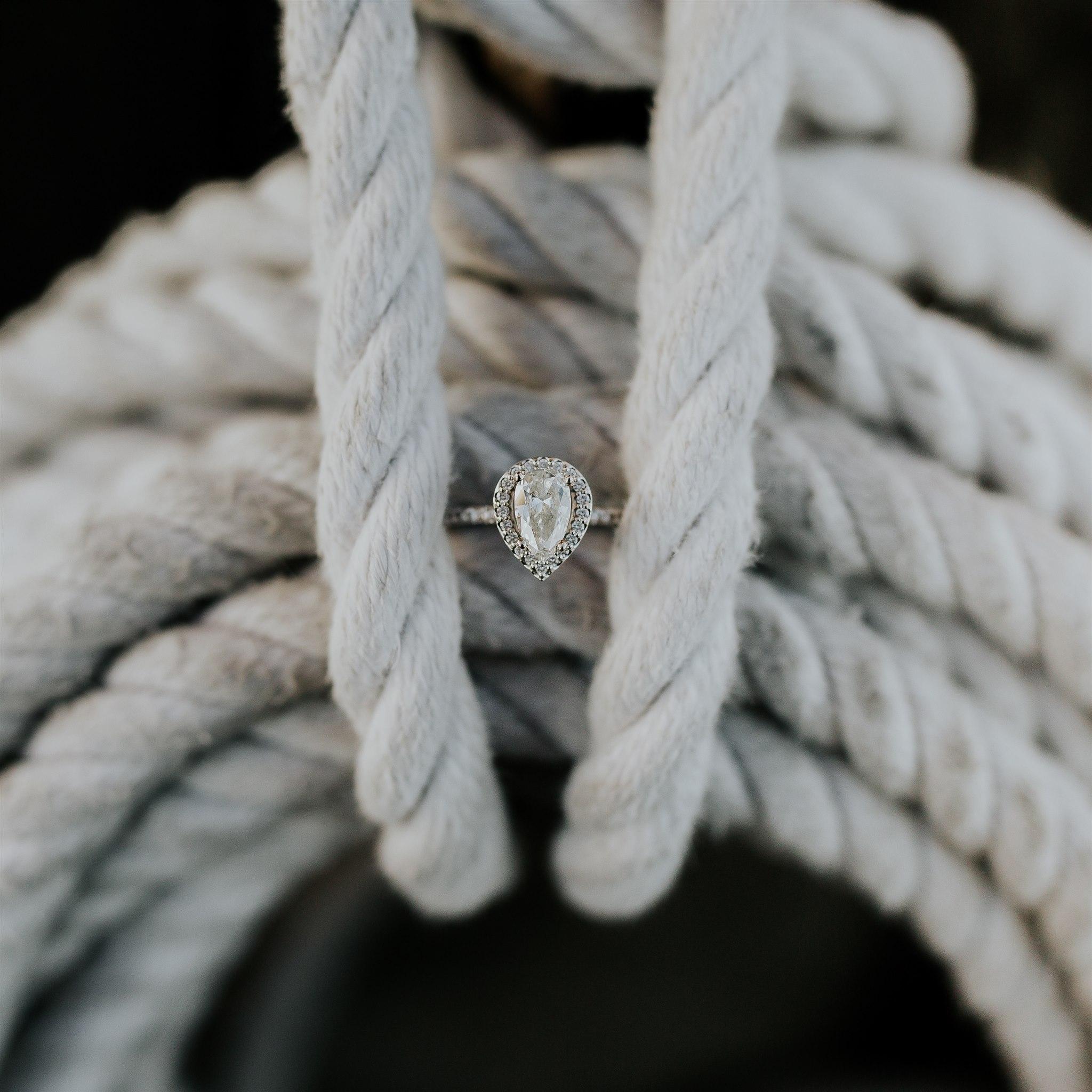 nautical ring engagement sailing