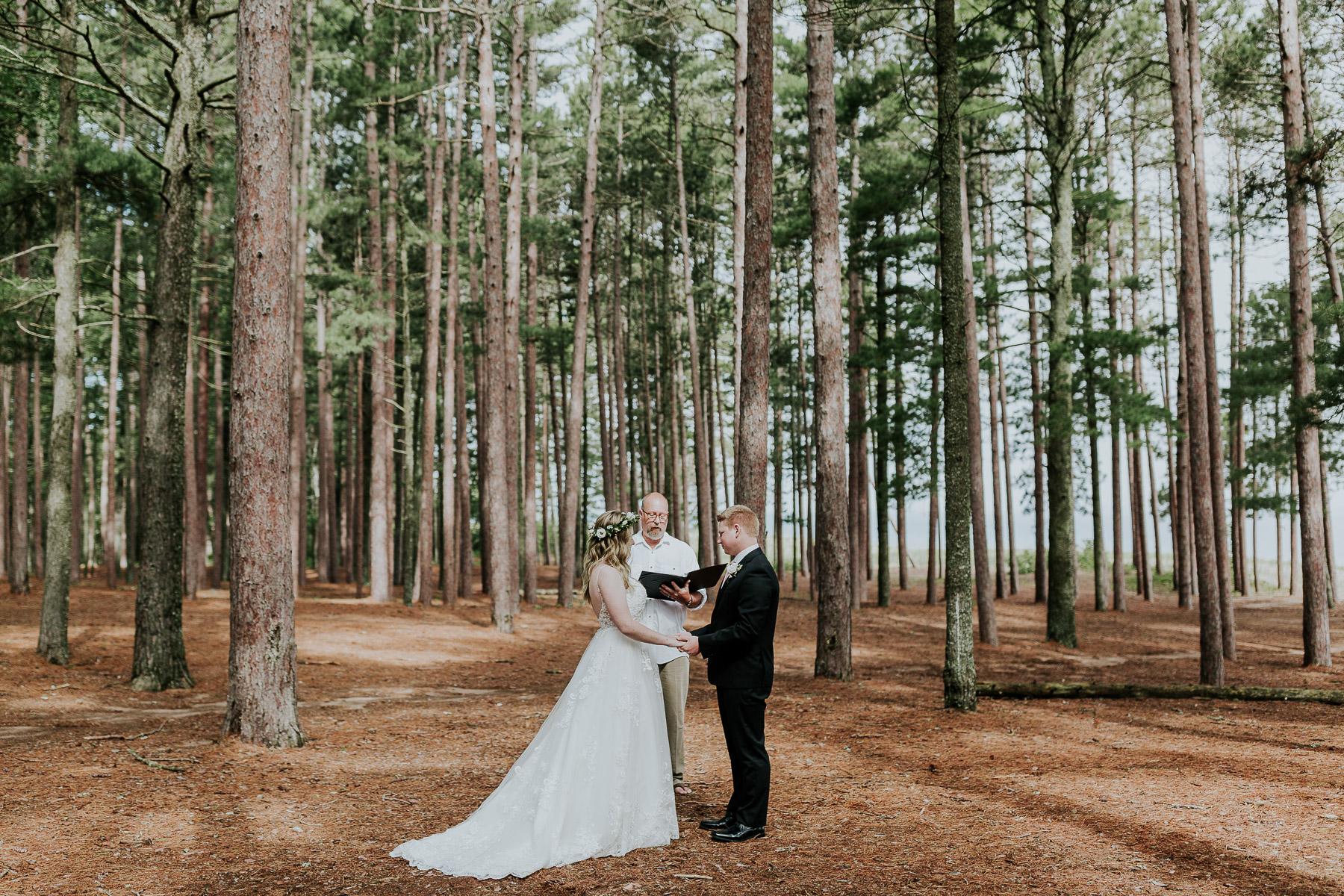 upper peninsula elopement michigan wedding photographer
